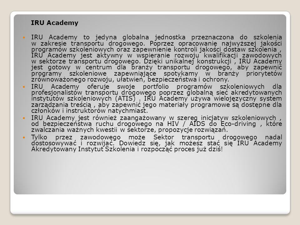 IRU Academy