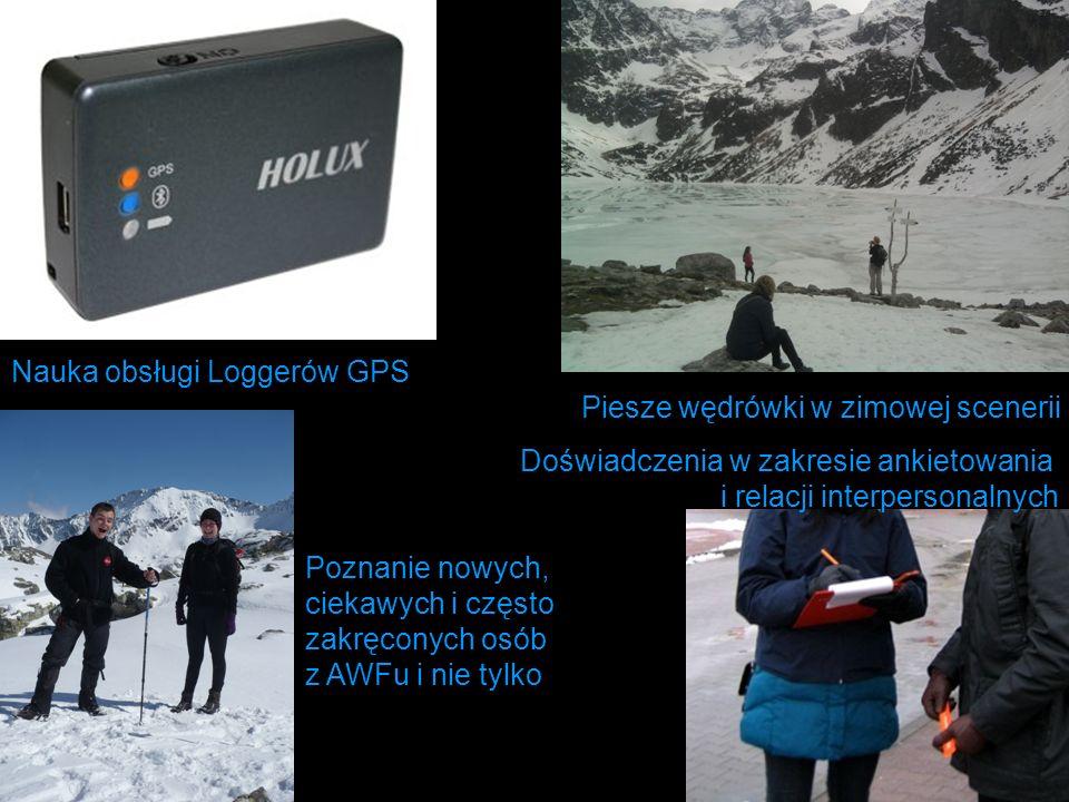 Nauka obsługi Loggerów GPS