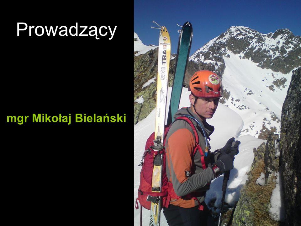 Prowadzący mgr Mikołaj Bielański
