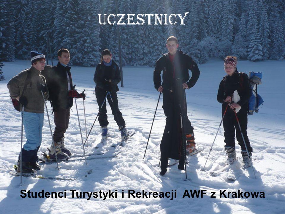 Studenci Turystyki i Rekreacji AWF z Krakowa