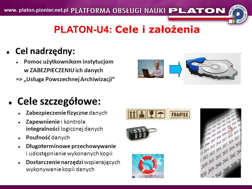 PLATON-U4: Cele i założenia