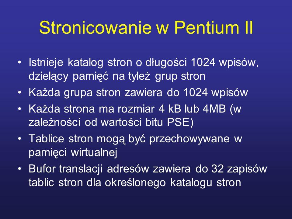 Stronicowanie w Pentium II