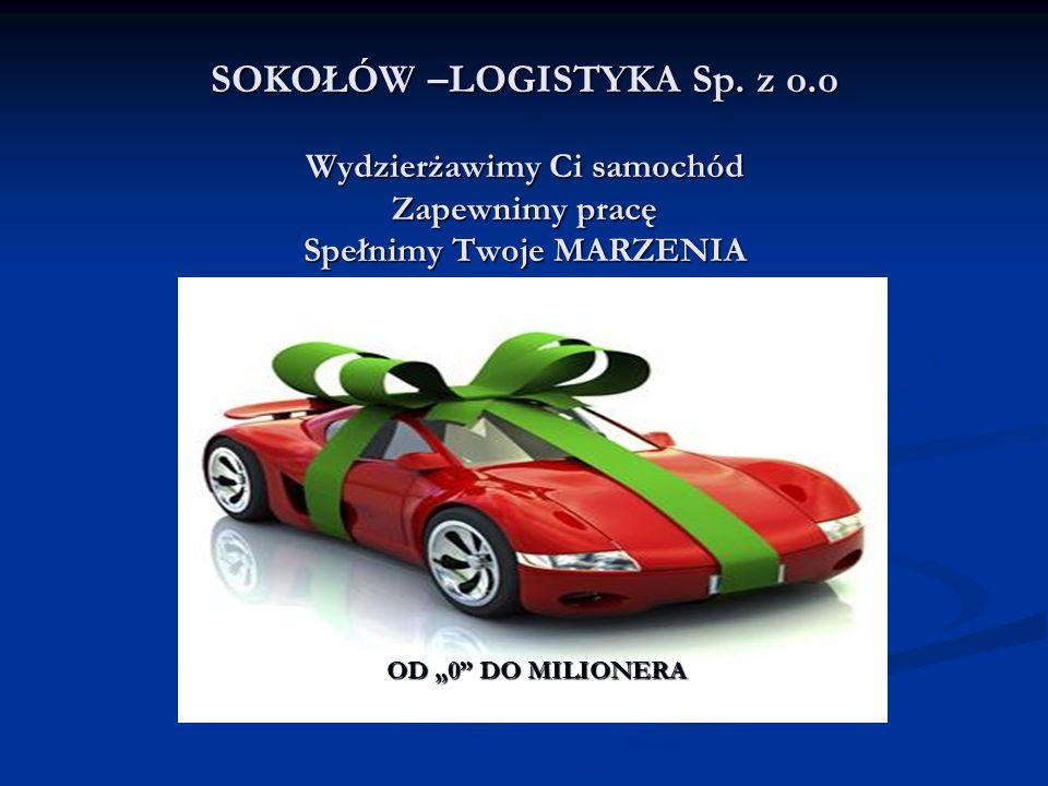 SOKOŁÓW –LOGISTYKA Sp. z o