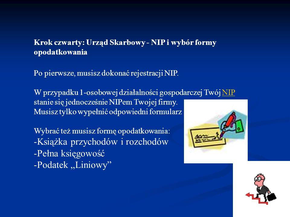 """Książka przychodów i rozchodów Pełna księgowość Podatek """"Liniowy"""