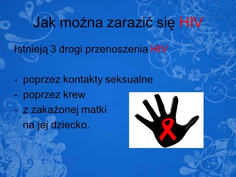 Jak można zarazić się HIV