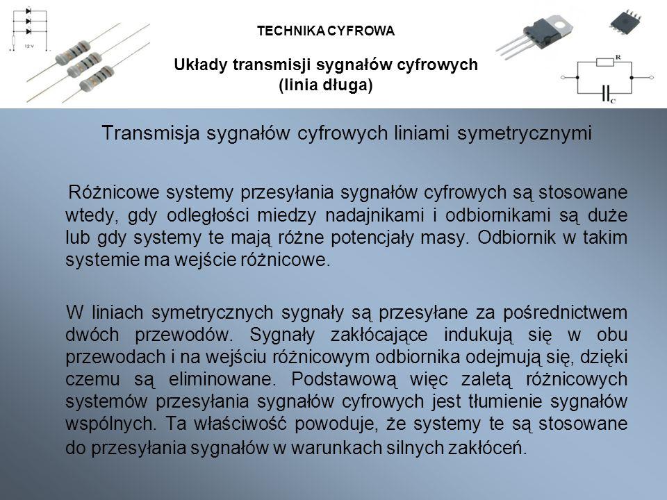 Układy transmisji sygnałów cyfrowych