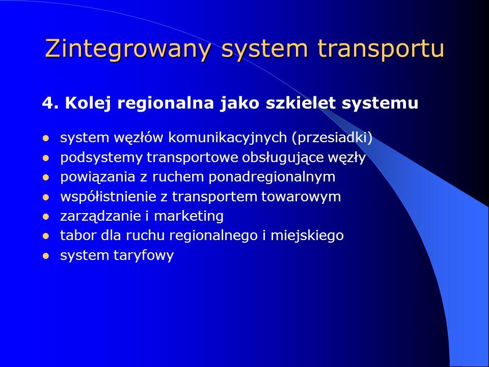 Zintegrowany system transportu