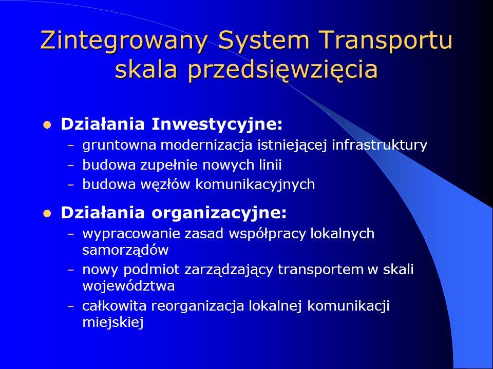 Zintegrowany System Transportu skala przedsięwzięcia