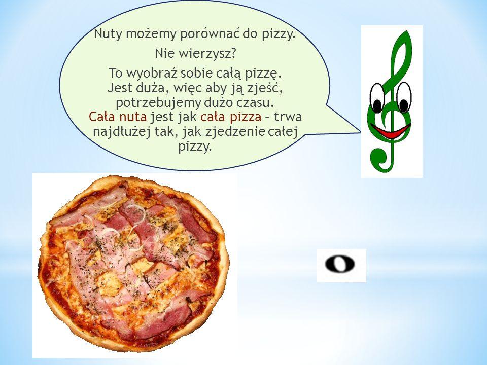 Nuty możemy porównać do pizzy. Nie wierzysz
