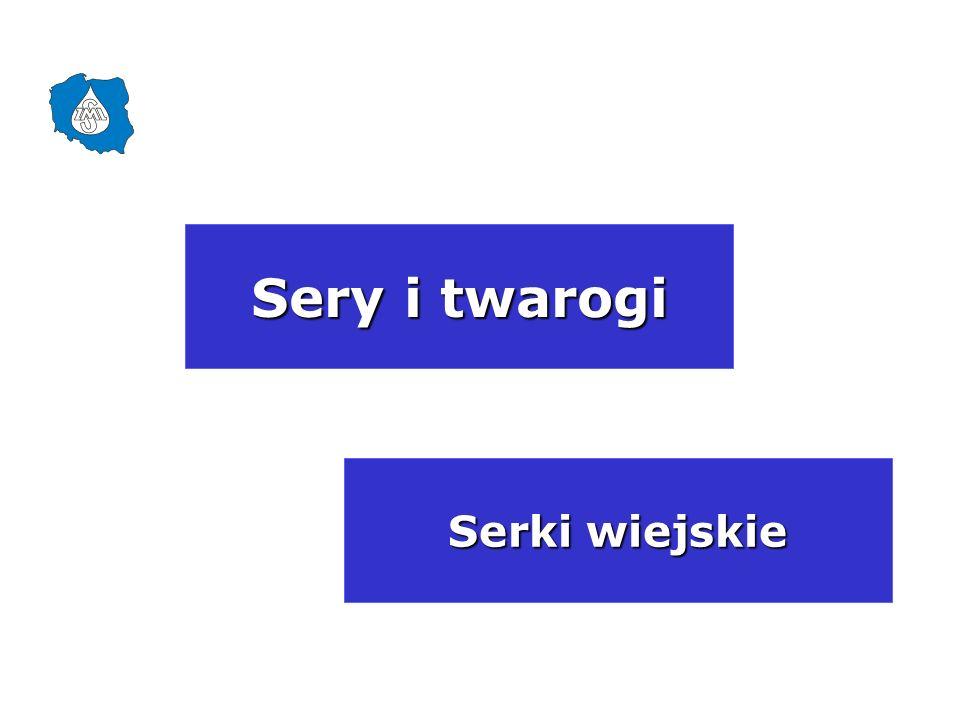 Sery i twarogi Serki wiejskie