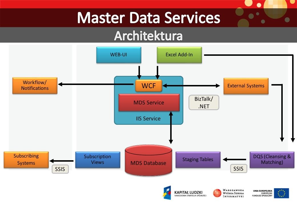 Master Data Services Architektura