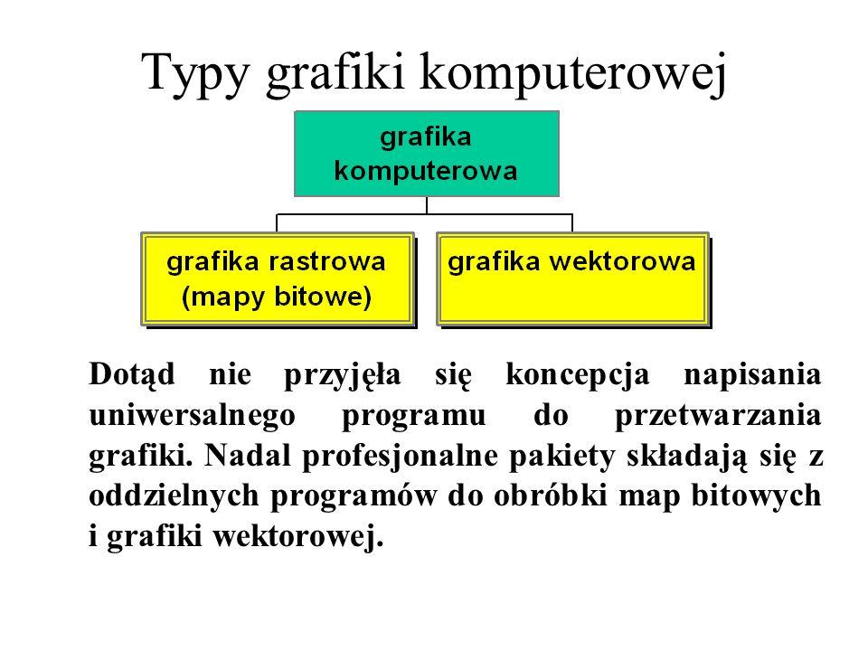 Typy grafiki komputerowej