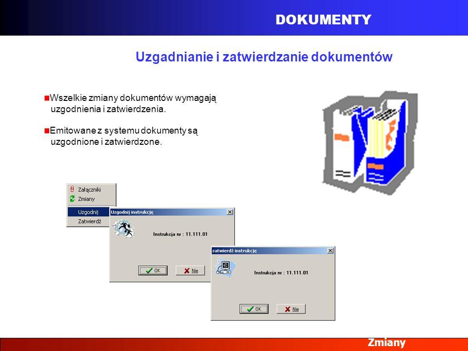 Uzgadnianie i zatwierdzanie dokumentów