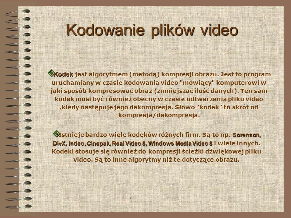 Kodowanie plików video