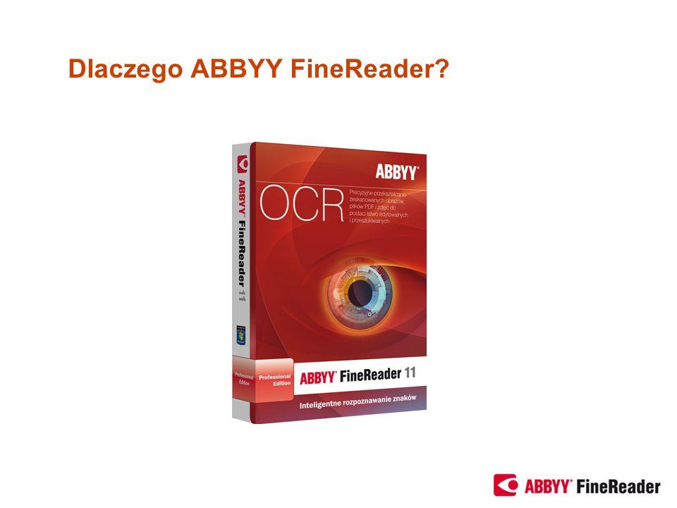 Dlaczego ABBYY FineReader