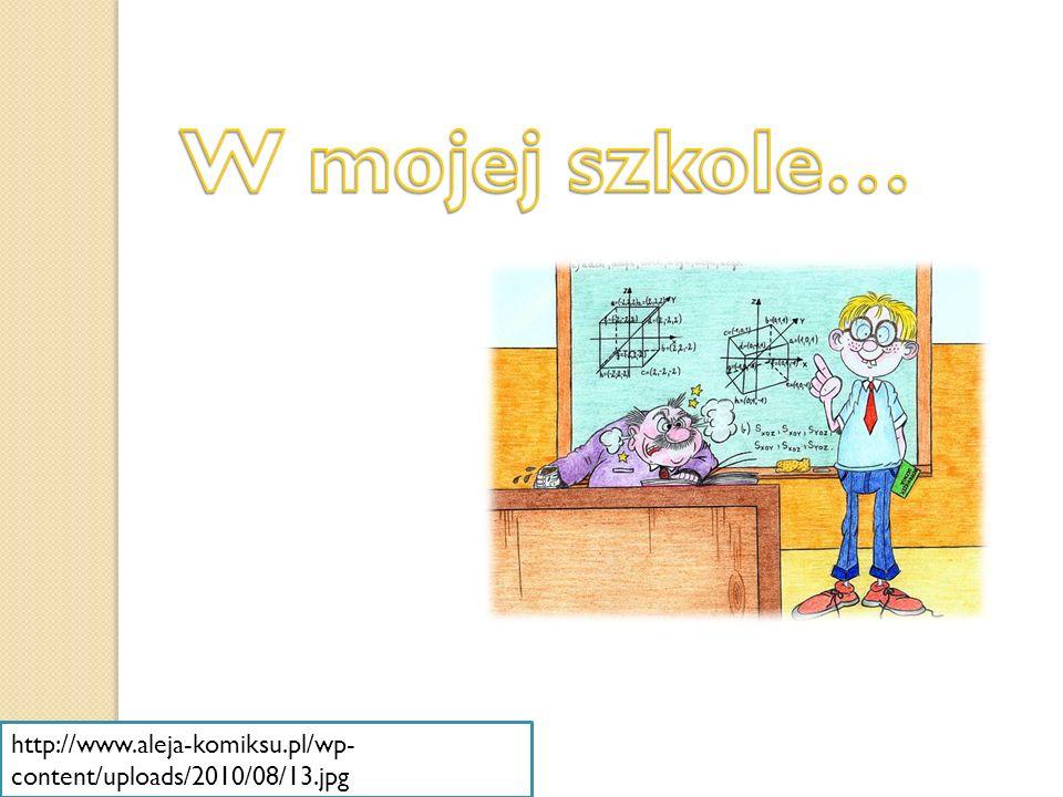 W mojej szkole… http://www.aleja-komiksu.pl/wp-content/uploads/2010/08/13.jpg