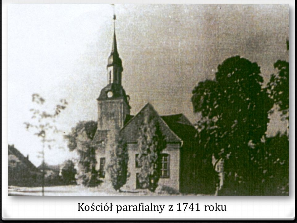 Kościół parafialny z 1741 roku