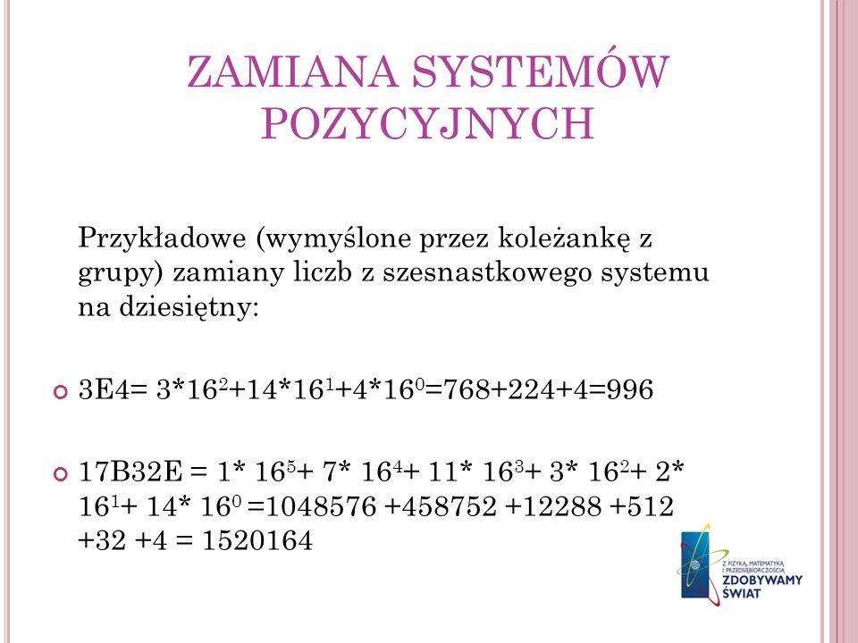 ZAMIANA SYSTEMÓW POZYCYJNYCH