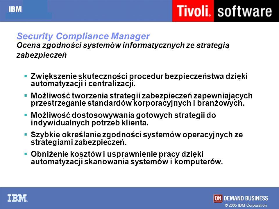 Security Compliance Manager Ocena zgodności systemów informatycznych ze strategią zabezpieczeń
