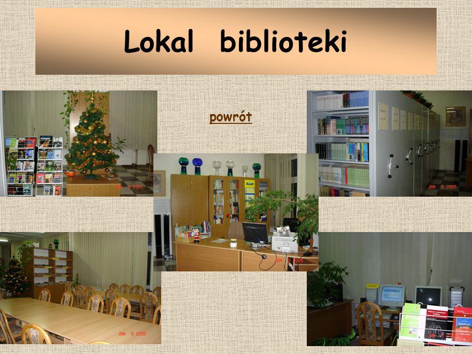 Lokal biblioteki powrót