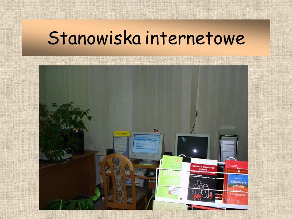 Stanowiska internetowe