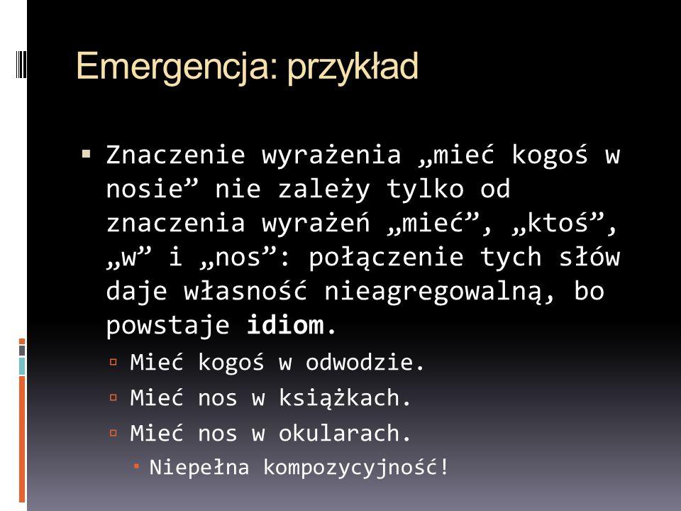 Emergencja: przykład