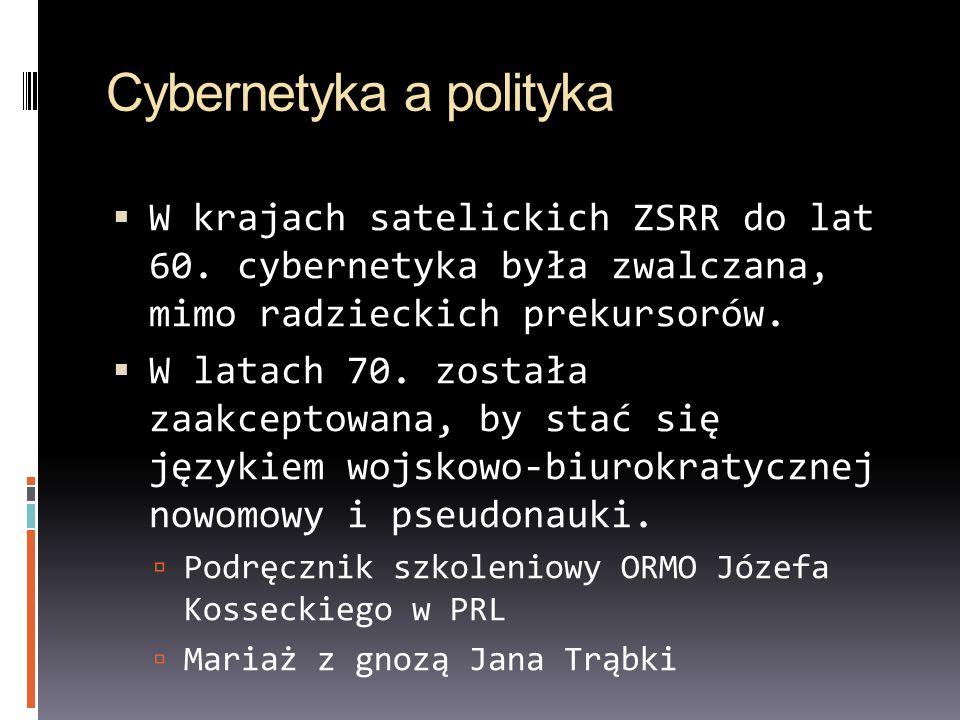 Cybernetyka a polityka
