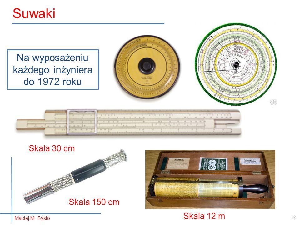 Na wyposażeniu każdego inżyniera do 1972 roku