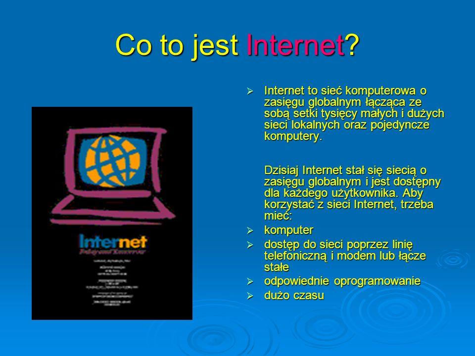 Co to jest Internet