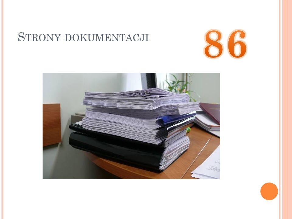 Strony dokumentacji 86