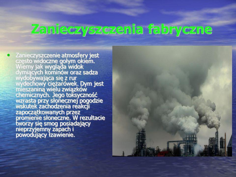 Zanieczyszczenia fabryczne