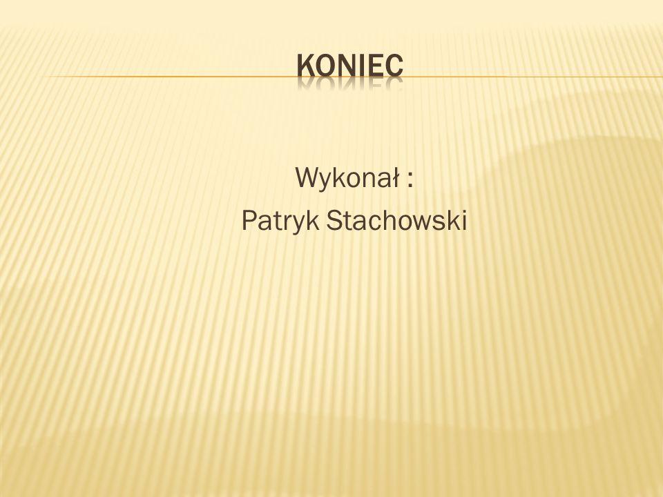 Wykonał : Patryk Stachowski