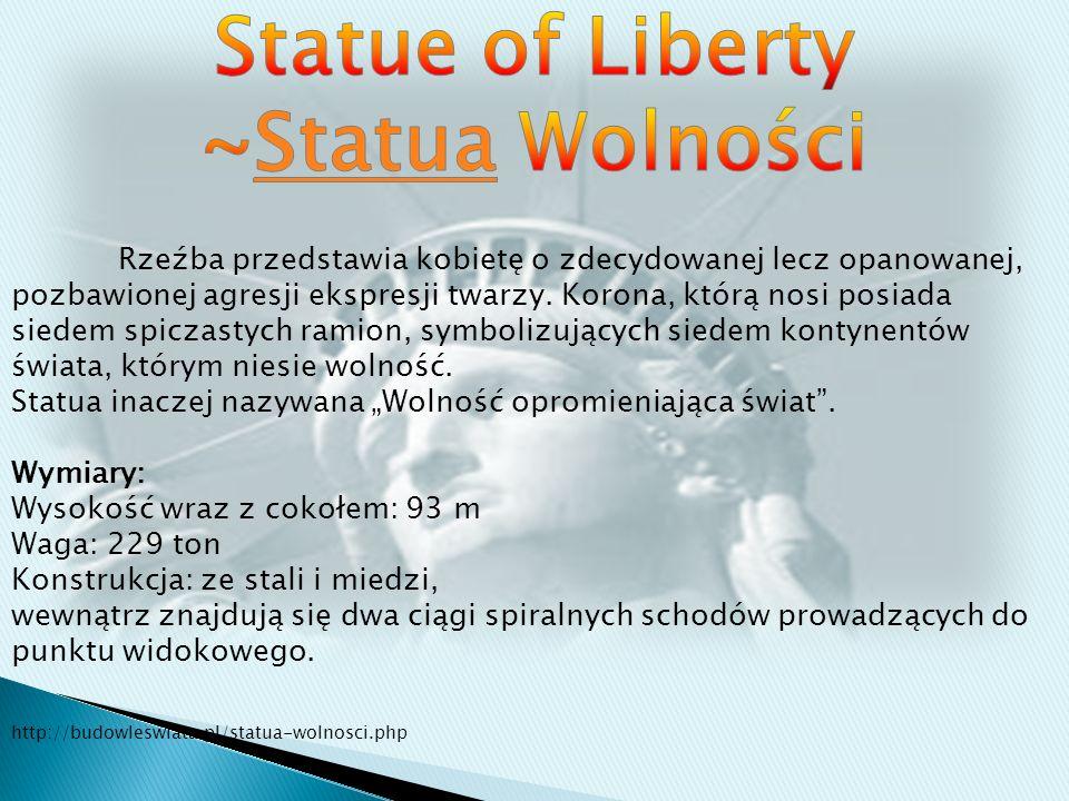 Statue of Liberty ~Statua Wolności