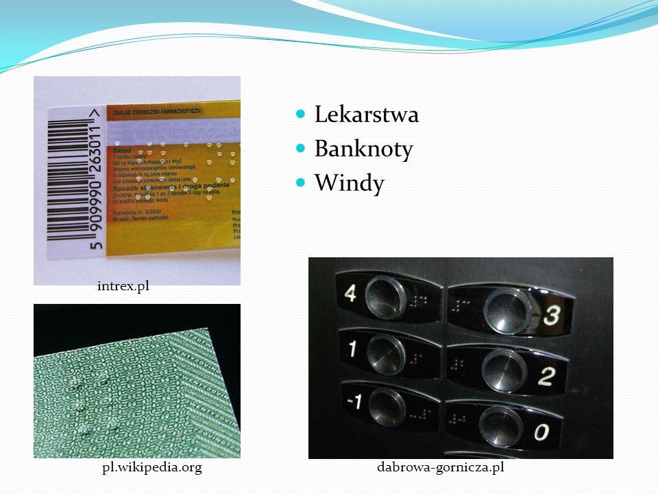 Lekarstwa Banknoty Windy intrex.pl pl.wikipedia.org