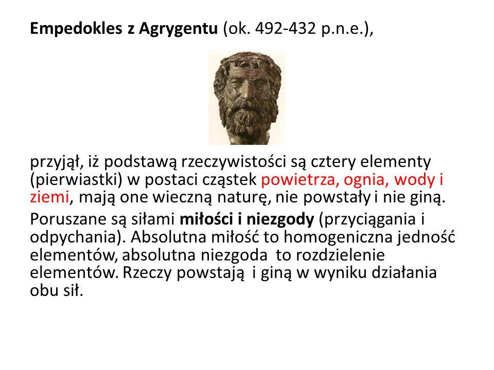 Empedokles z Agrygentu (ok. 492-432 p. n. e
