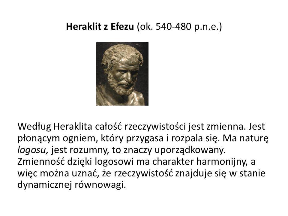 Heraklit z Efezu (ok. 540-480 p. n. e