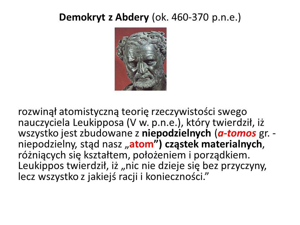 Demokryt z Abdery (ok. 460-370 p. n. e