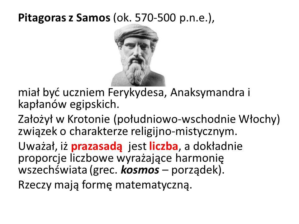 Pitagoras z Samos (ok. 570-500 p. n. e
