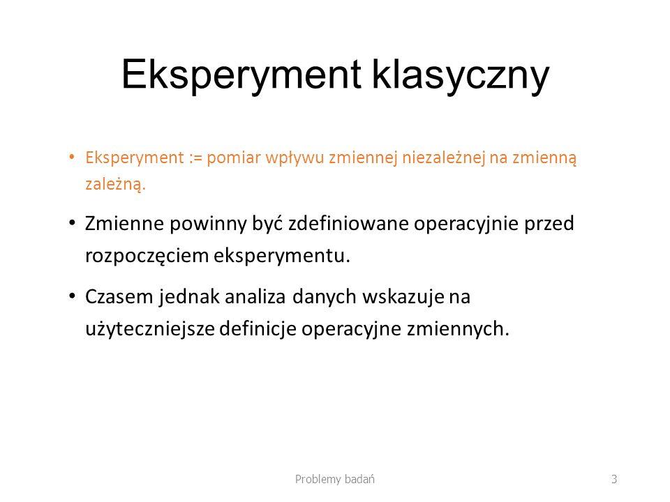 Eksperyment klasyczny