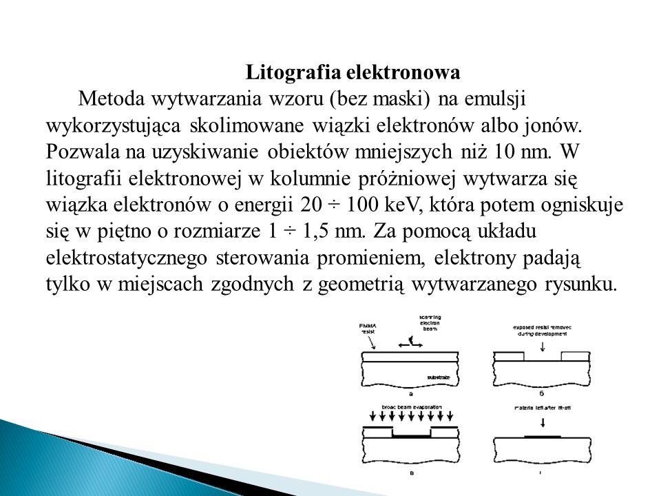 Litografia elektronowa