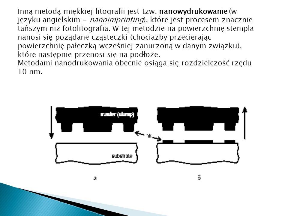 Inną metodą miękkiej litografii jest tzw
