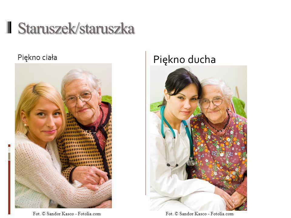 Staruszek/staruszka Piękno ducha Piękno ciała