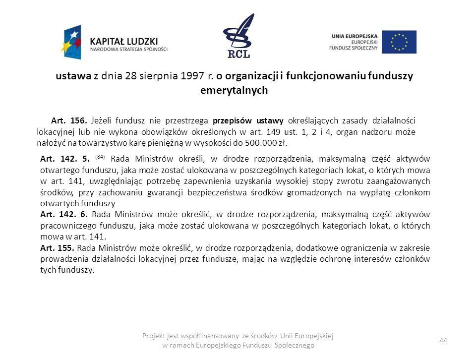 ustawa z dnia 28 sierpnia 1997 r