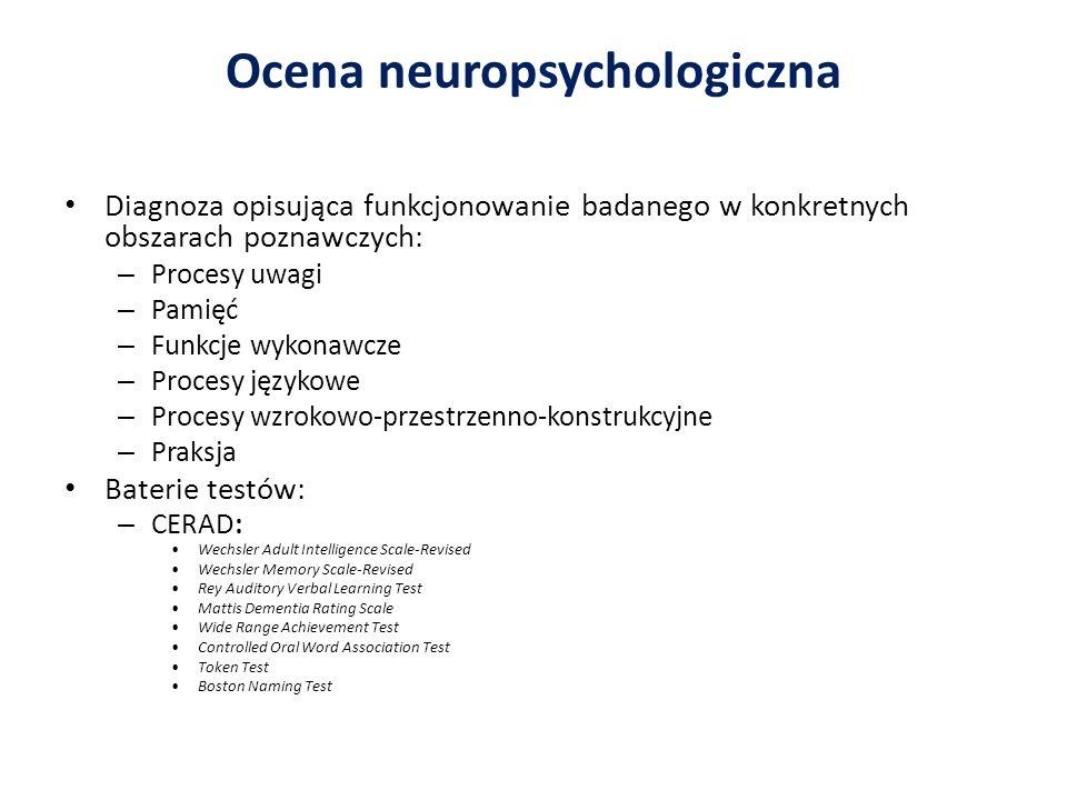 Ocena neuropsychologiczna