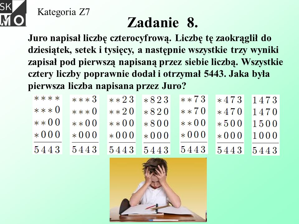 Kategoria Z7 Zadanie 8.