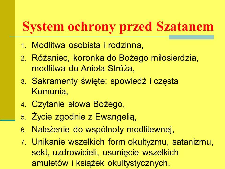 System ochrony przed Szatanem