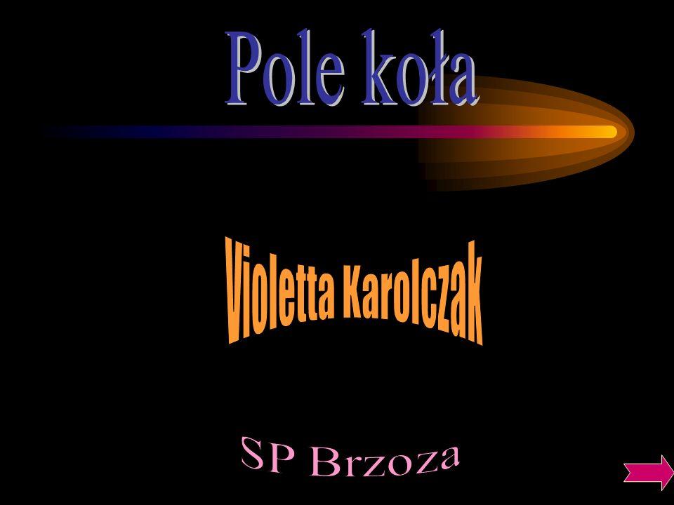 Pole koła Violetta Karolczak SP Brzoza