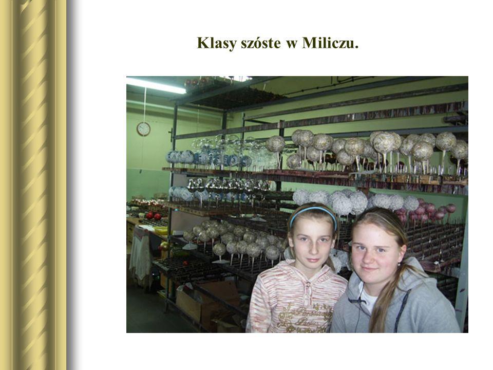 Klasy szóste w Miliczu.