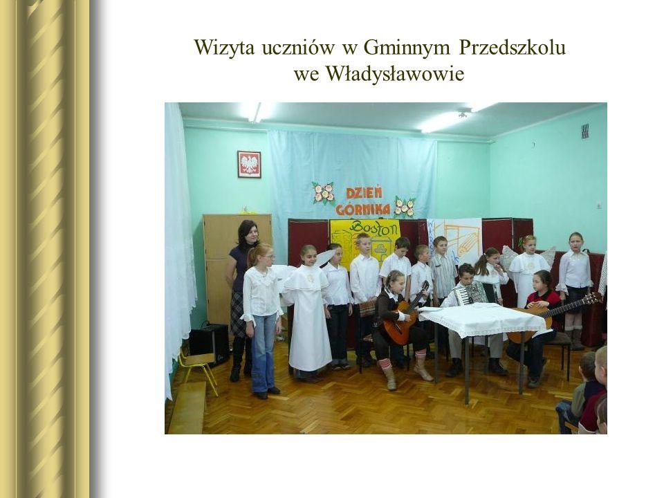 Wizyta uczniów w Gminnym Przedszkolu we Władysławowie