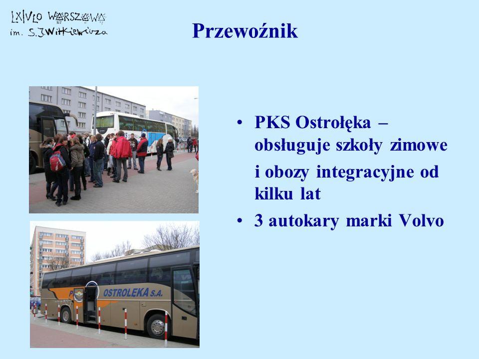 Przewoźnik PKS Ostrołęka – obsługuje szkoły zimowe